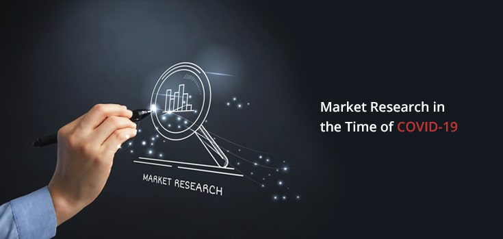 Image showing black background of Market Research
